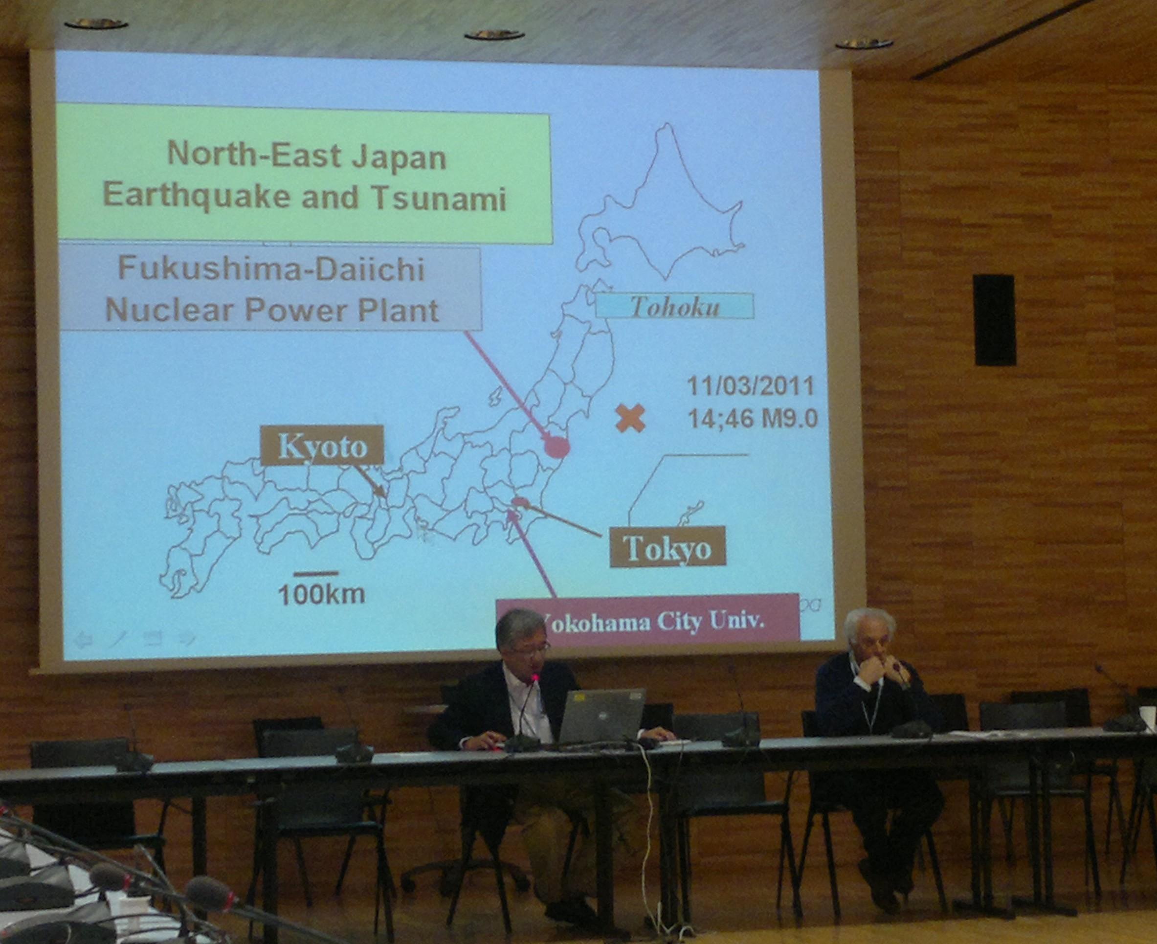 Prof. Hirahara přednáší na ICBDSR meetingu v Ženevě